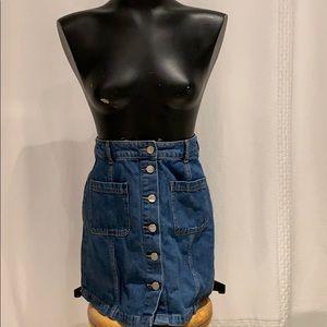 H&M Denim High-waisted skirt